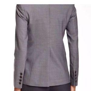 Theory Broadway gray suit blazer size 4